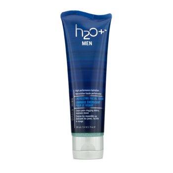 H2O+ Oasis Men Energizing Facial Scrub  100ml/3.4oz