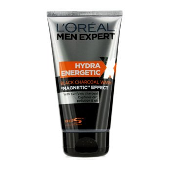L'Oreal L'Oreal Men Expert Hydra Energetic Black Charcoal Wash  150ml/5oz