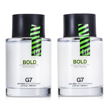Gap Bold After Shave Soother Duo Pack  2x100ml/3.4oz