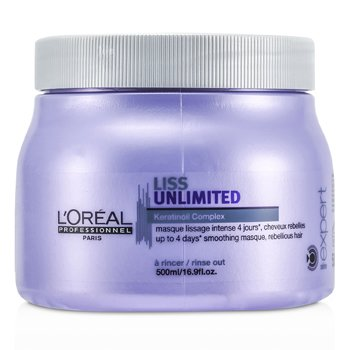 L'Oreal Professionnel Expert Serie - Máscara Liss Unlimited Smoothing (Cabelo Rebelde)  500ml/16.9oz