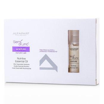 AlfaParf Semi Di Lino Moisture Aceite Esencial Nutritivo (Para Cabello Seco)  6x13ml/0.43oz