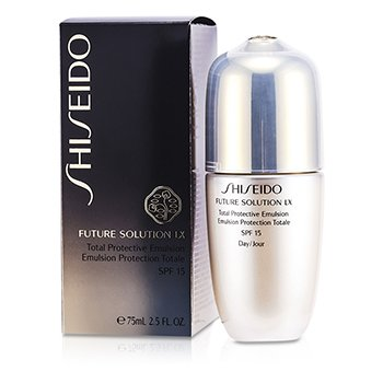 Shiseido Future Solution LX Emulsión Protectora Total SPF 15  75ml/2.5oz