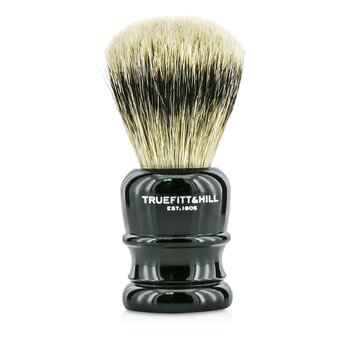 Truefitt & Hill Wellington Super Badger Shave Brush - # Faux Ebony  1pc