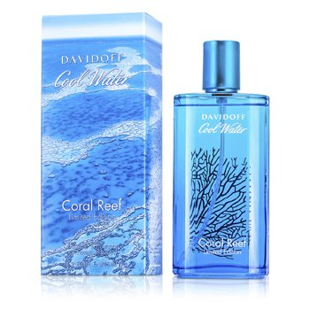 Davidoff Cool Water Coral Reef Eau De Toilette Spray (Edici�n Limitada)  125ml/4.2oz