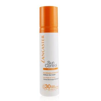 Lancaster Sun Control Face Uniform Tan Cream SPF30  50ml/1.7oz