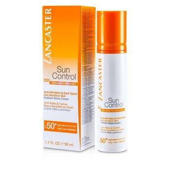 Lancaster Sun Control Face Radiant Glow Cream SPF 50+  50ml/1.7oz