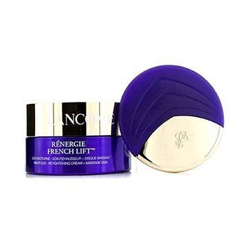 Lancome Renergie French Lift: Night Duo - Crema Reapretadora + Disco de Masaje  50ml/1.7oz