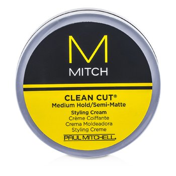 Paul Mitchell Mitch Clean Cut Medium Hold/Semi-Matte Styling Cream  85g/3oz
