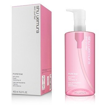Shu Uemura Skin Purifier Porefinist Aceite Limpiador Fresco Anti Brillo  450ml/15oz