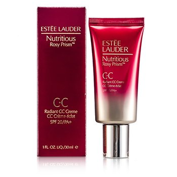 Estee Lauder Nutritious Rosy Prism Radiant Crema CC SPF20/PA+  30ml/1oz