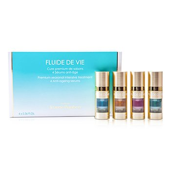 מתודה ג'ין פיוברט Fluide De Vie - Premium Seasonal Intensive Treatment סרום אנטי-אייג'ינג  4x11ml/0.36oz