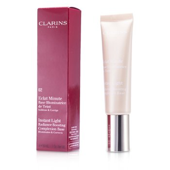 Clarins Baza pod makijaż Instant Light Radiance Boosting Complexion Base - # 02 Champagne  30ml/1oz