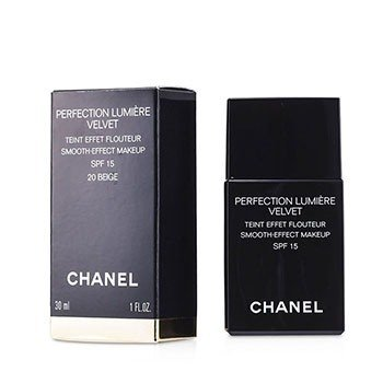 Chanel Perfection Lumiere Velvet Smooth Effect Makeup SPF15 - # 20 Beige  30ml/1oz