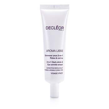 Decleor Aroma Lisse 2-in-1 Dark Circle & Eye Wrinkle Eraser (Salon Size)  30ml/1oz
