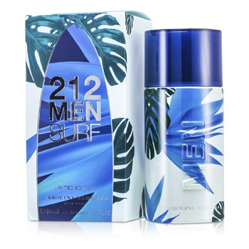 Carolina Herrera 212 Surf Eau De Toilette Spray (Limited Edition)  100ml/3.4oz