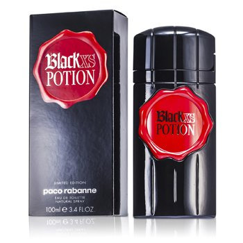 Paco Rabanne Black Xs Potion Eau De Toilette Spray (Limited Edition)  100ml/3.4oz