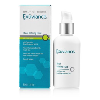 Exuviance Sheer Refining Fluid SPF 35 (For Oily/ Acne Prone Skin)  50ml/1.75oz