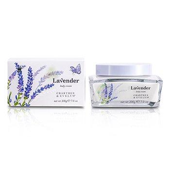 Crabtree & Evelyn Lavender Crema Corporal  200g/7oz