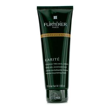 Rene Furterer Karite Intense Máscara Nutritiva - Para Cabello Muy Seco, Dañado (Producto Salón - Tubo)  250ml/8.66oz