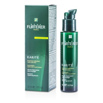 Rene Furterer Karite Leave-In Repairing Serum (For Damaged, Very Dry Hair Ends)  30ml/1.01oz