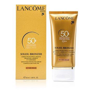 Lancome Soleil Bronzer Yatıştıran Pürüzsüzleştirici Koruyucu Krem (Güneş BB Kremi) SPF50  50ml/1.69oz