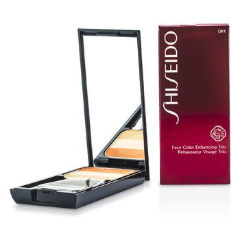 Shiseido Face Color Enhancing Trio - OR1 Peach  7g/0.24oz