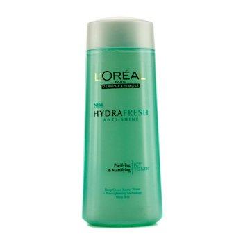 L'Oreal Dermo-Expertise Hydrafresh Anti-Shine Purifying & Mattifying Icy Toner (For Shiny Skin)  200ml/6.7oz