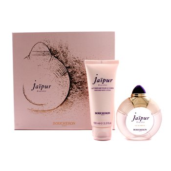 Boucheron Jaipur Bracelet Coffret: Eau De Parfum Spary 50ml/1.7oz + Body Lotion 100ml/3.3oz  2pcs