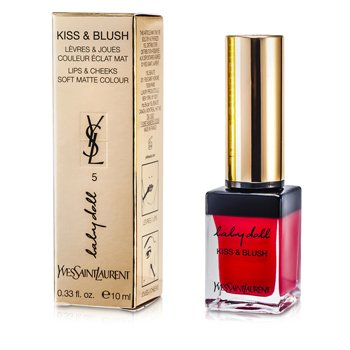 Yves Saint Laurent Baby Doll Kiss & Blush - # 05 Rouge Effrontee  10ml/0.33oz