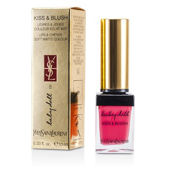 Yves Saint Laurent Baby Doll Kiss & Blush - # 08 Pink Hedoniste  10ml/0.33oz