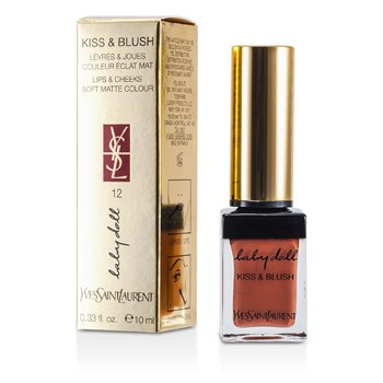 Yves Saint Laurent Baby Doll Kiss & Blush - # 12 Moca Garconne  10ml/0.33oz