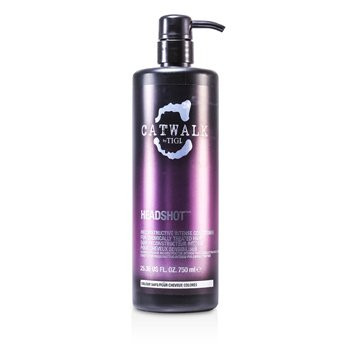 Tigi Catwalk Headshot Reconstructive Intense Conditioner (For Chemically Treated Hair)  750ml/25.36oz
