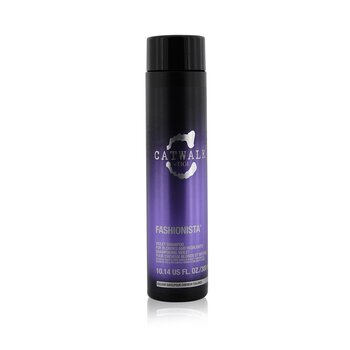 Tigi Catwalk Fashionista Violet Shampoo (For blondiner og stripet hår)  300ml/10.14oz