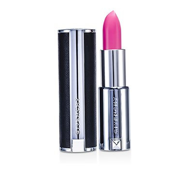Givenchy Le Rouge Intense Color Sensuously Mat Lipstick - # 210 Rose Dahlia (Genuine Leather Case)  3.4g/0.12oz