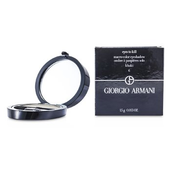 Giorgio Armani Eyes to Kill Solo Eyeshadow - # 06 Khaki  1.5g/0.053oz