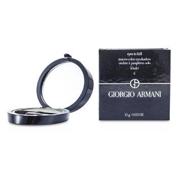 Giorgio Armani Eyes to Kill Sombra de Ojos Individual - # 06 Khaki  1.5g/0.053oz