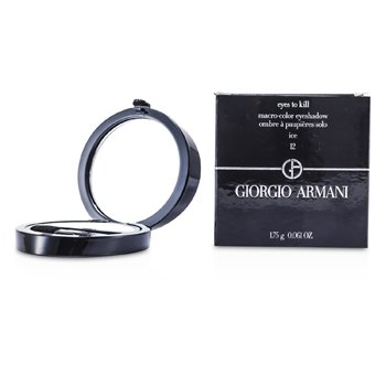 Giorgio Armani Eyes to Kill Solo Eyeshadow - # 12 Ice  1.75g/0.061oz