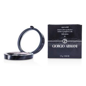 Giorgio Armani Eyes to Kill Solo Eyeshadow - # 16 Dark Plum  1.75g/0.061oz