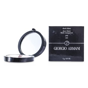 Giorgio Armani Cheek Fabric Sheer Blush - # 500 Pop  4g/0.14oz