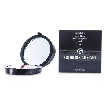 Giorgio Armani Cheek Fabric Rubor Puro - # 506 Blush  4g/0.14oz