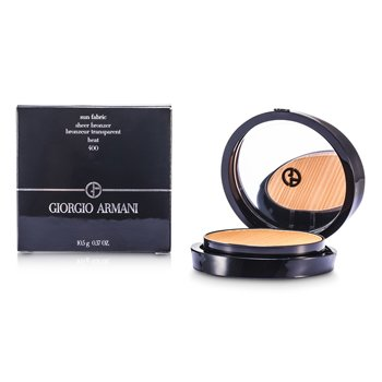 Giorgio Armani Sun Fabric Sheer Bronzer - # 400 Heat  10.5g/0.37oz