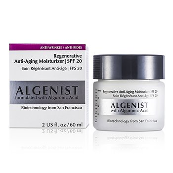Algenist Regenerative Anti-Aldrende Fuktighetskrem SPF 20  60ml/2oz