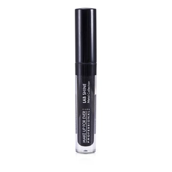 Make Up For Ever Lab Shine Colección Metal Chrome Brillo de Labios - #M0 (Onyx) (Sin Caja)  2.6g/0.09oz
