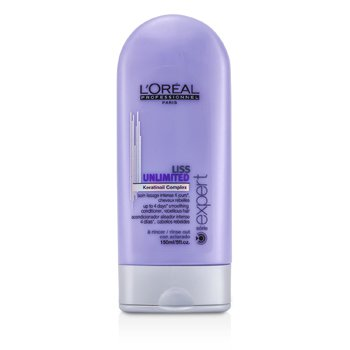 L'Oreal Professionnel Expert Serie - Liss Unlimited Smoothing Conditioner - Rinse Out (For Rebellious Hair)  150ml/5oz