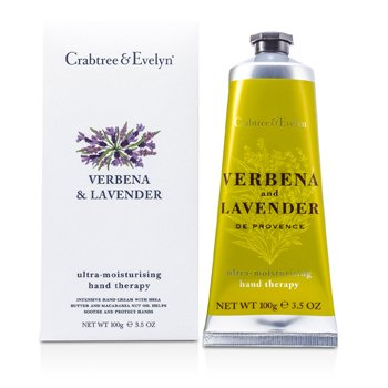 Crabtree & Evelyn Verbena & Lavender Ultra-Moisturising Hand Therapy  100g/3.5oz