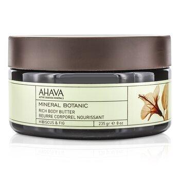 Ahava Mineral Botanic Velvet Body Butter - Hibiscus & Fig  235g/8oz