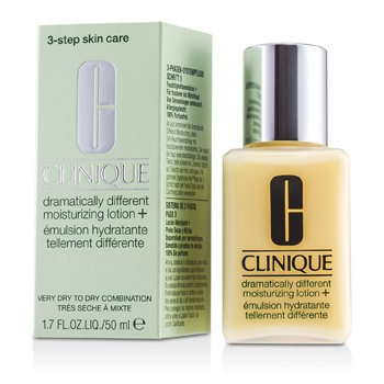 Clinique Dramatically Different Moisturizing Lotion + - Pelembab (Sangat Kering ke Kering Kombinasi; Botol)  50ml/1.7oz