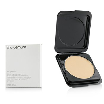 Shu Uemura The Lightbulb UV Compact Foundation SPF30 Refill - # 354 Medium Amber  12g/0.42oz