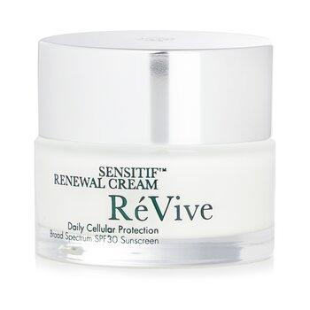 Re Vive Sensitif Renewal Crema Protección Celular Diaria SPF 30  50g/1.7oz