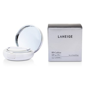 Laneige BB Cushion Foundation SPF 50 med ekstra påfyll - # No. 21 Natural Beige  2x15g/0.5oz